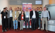 Photo of LANIR 18M meeting participants at Dublin, Ireland
